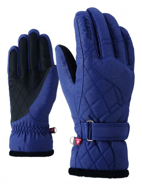 ZIENER - KEYSA PR handschoen - donker blauw