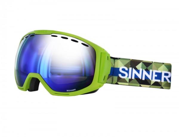 SINNER - MOHAWK skibril - geel