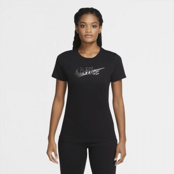 NIKE - ICON CLASH T-shirt women - zwart