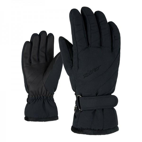 ZIENER - KILENI PR handschoen - zwart - Haarlem