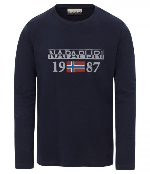 NAPAPIJRI - SOLIN longsleeve T-shirt - blauw