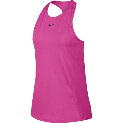 NIKE - ALL OVER MESH top - roze