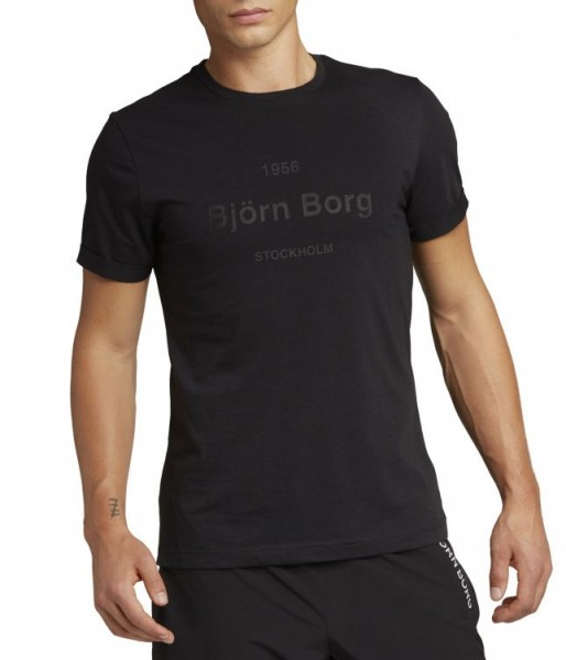 BJORN BORG - ART T-shirt men - zwart