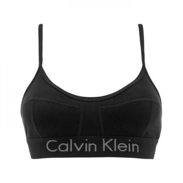 CALVIN KLEIN - UNLINED bh - zwart