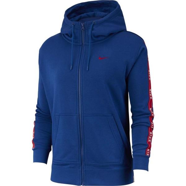 NIKE - FULL-ZIP LOGO sweater - blauw