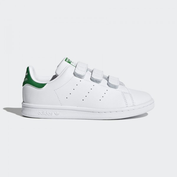 ADIDAS - STAN SMITH Sneaker kids - wit/groen
