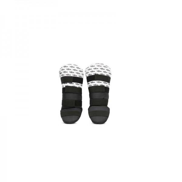 FORZA - KIDS scheenbeschermer - zwart/wit