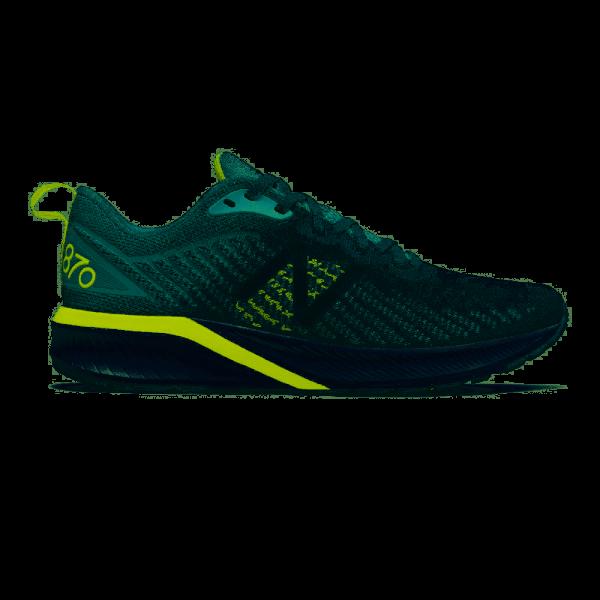 NEW BALANCE - 870V5 schoenen - licht grijs