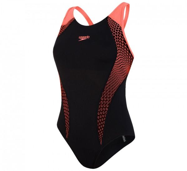 SPEEDO - ZESHOEKIG zwempak - zwart