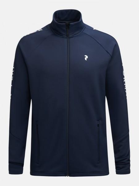 PEAK PERFORMANCE - RIDER ZIP jas men - donkerblauw