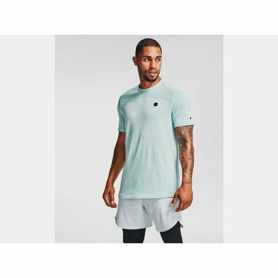 UNDER ARMOUR - RUSH top men - blauw