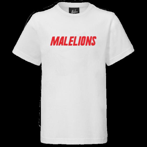 MALELIONS - NIUM t-shirt junior - wit/rood