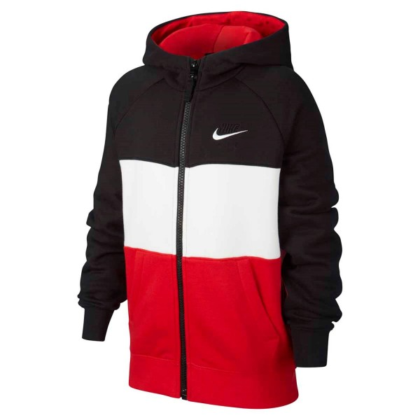 NIKE - AIR vest boys - zwart/rood