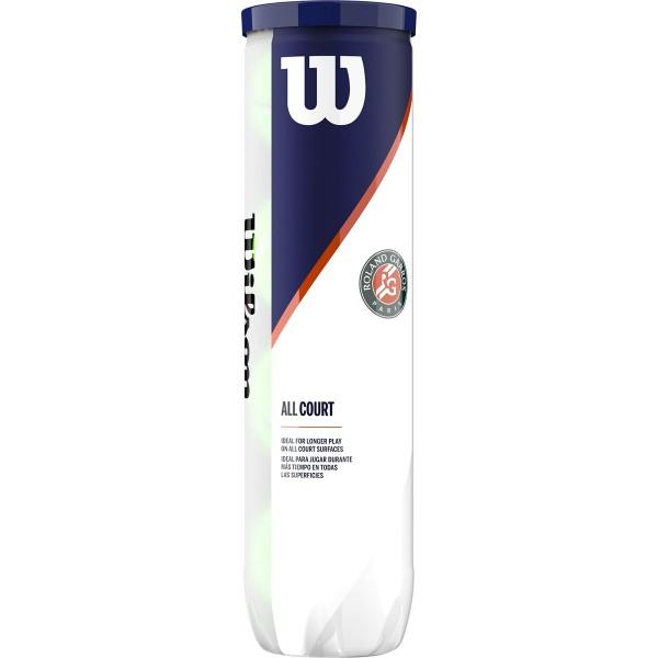 WILSON - ROLAND GARROS all court tennisballen 3-pack