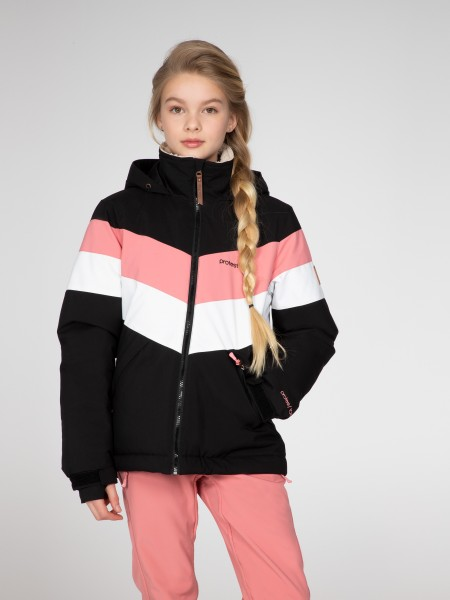 PROTEST - FUDGE JR SNOWJACKET - zwart