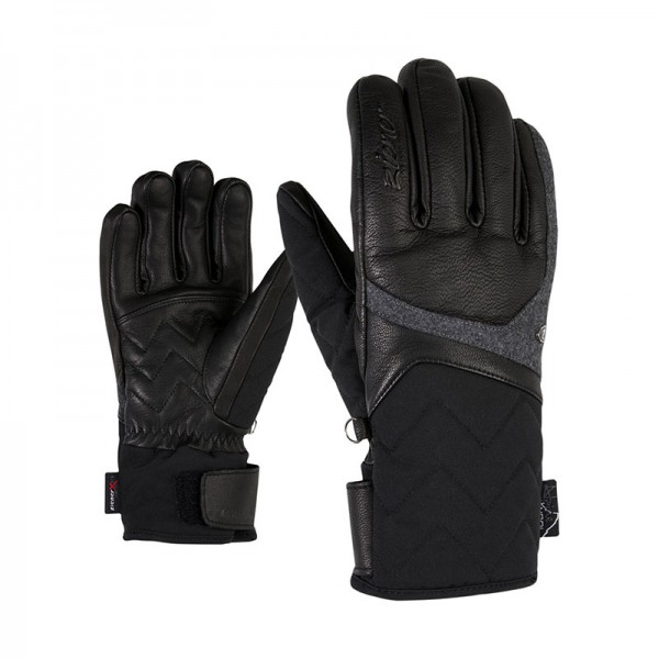 ZIENER - KRISTALL AS(R) handschoen - zwart - Haarlem