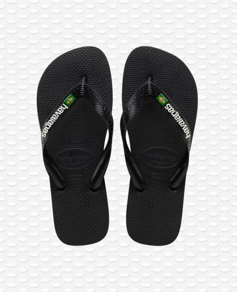 HAVAIANAS Heren slippers - Brazil Logo zwart
