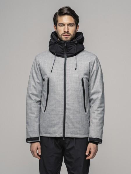 PEOPLE OF SHIBUYA - HANEDA jas men - grijs