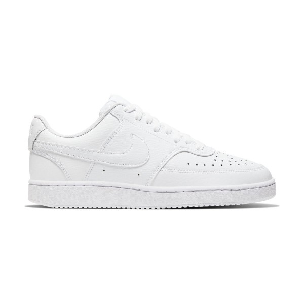NIKE - COURT VISION LOW schoenen - wit