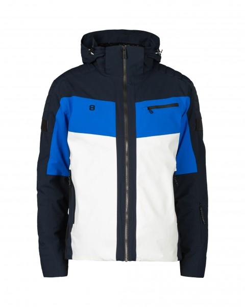 8848 ALTITUDE - FLEMING ski-jas men - wit/blauw