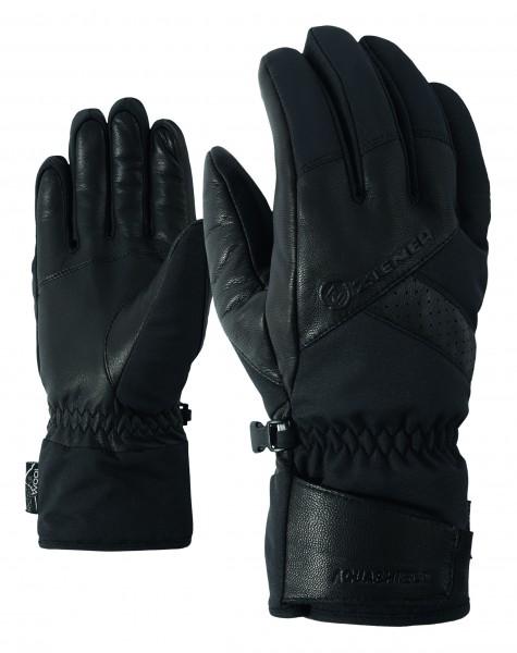 ZIENER - GETTER AS(R) handschoen - zwart