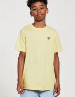 LYLE & SCOTT - CLASSIC t-shirt jongens - geel