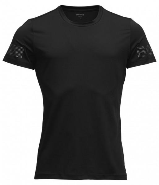BJORN BORG - MEDAL T-shirt - zwart zilver