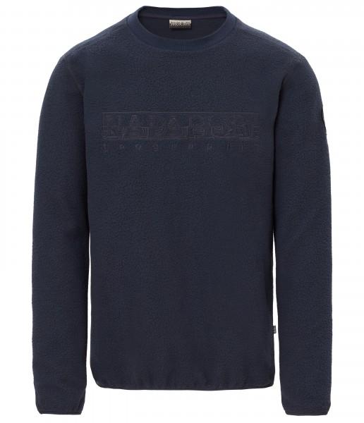 NAPAPIJRI - TAME PILE FLEECE sweater - marine blauw