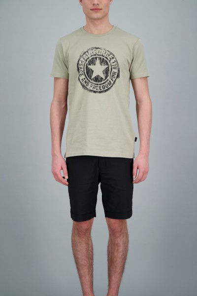 AIRFORCE - SCRATCHED LOGO T-shirt - licht groen