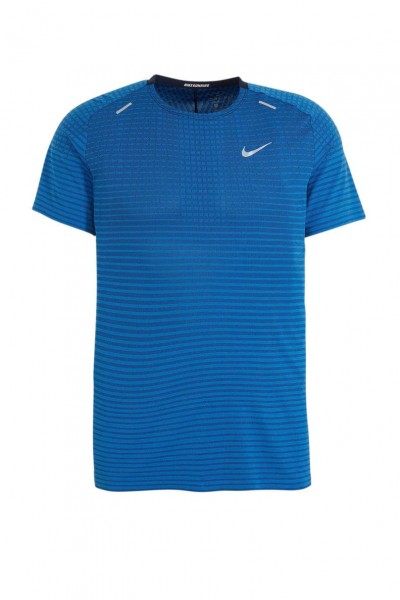NIKE - TECHKNIT ULTRA top - blauw