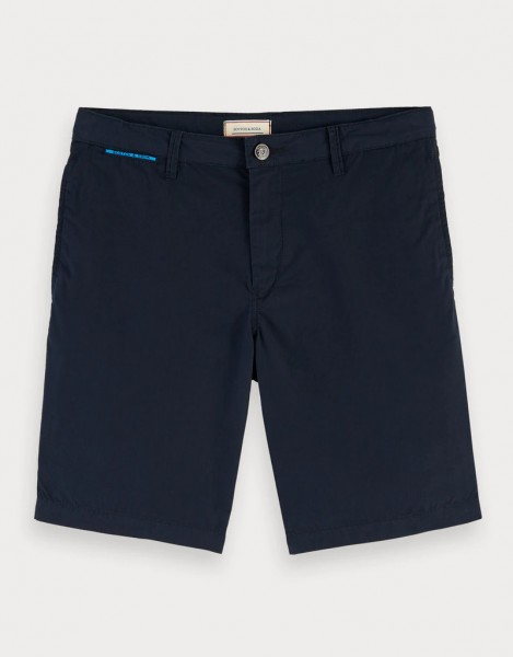 SCOTCH & SODA - CHINO short - donker blauw