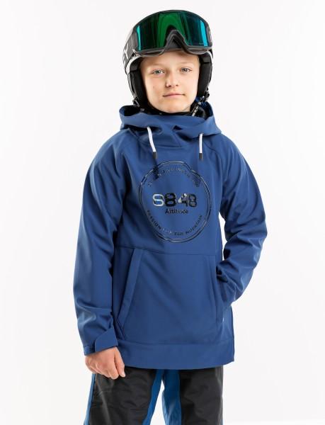 8848 ALTITUDE - ZACK JR hoodie - blauw