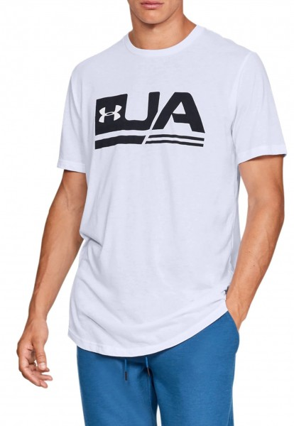 UNDER ARMOUR - SS DROP t-shirt - wit