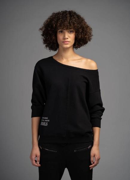 ELIAS RUMELIS - AVIANA sweater women - zwart