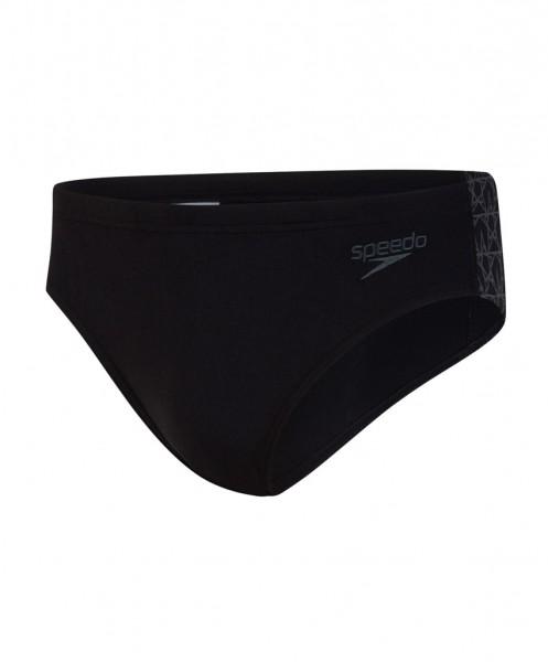 SPEEDO Heren zwemslip - Splice 7cm zwart