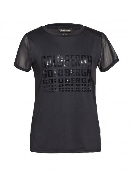 GOLDBERGH - BIRSA t-shirt - zwart