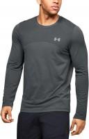 UNDER ARMOUR - SEAMLESS LONG shirt men - grijs