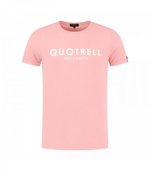 QUOTRELL - BASIC t-shirt men - lichtroze