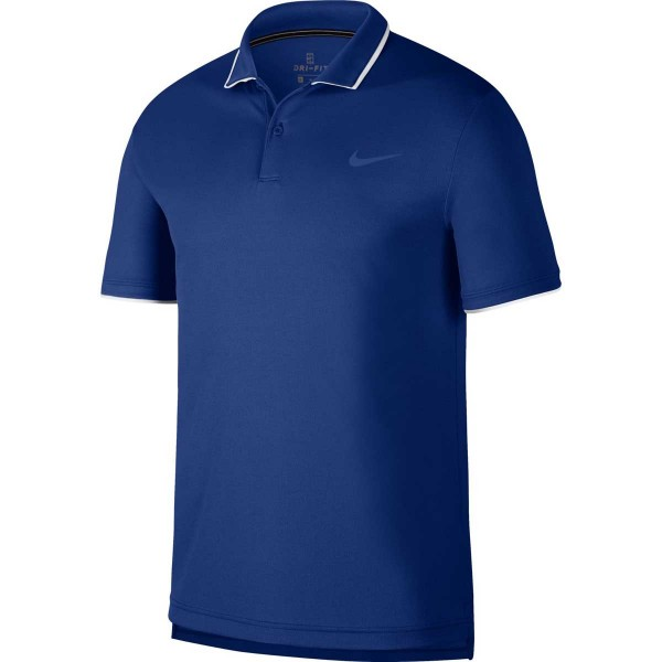 NIKE - COURT POLO T-shirt - blauw
