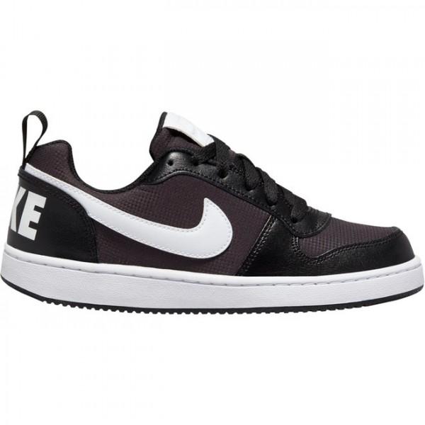 NIKE - Court Borough Low PE Sneaker kids - zwart