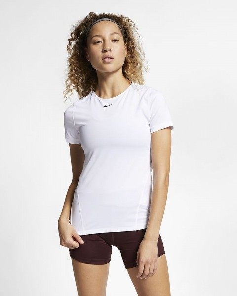 NIKE - PRO top women - wit