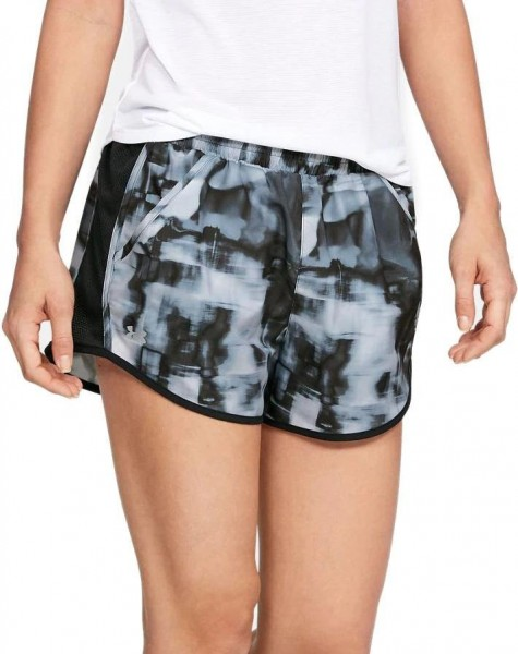 UNDER ARMOUR - FLY BY short women - grijs