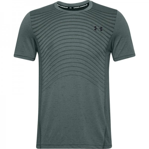 UNDER ARMOUR - SEAMLESS WAVE top men - blauw
