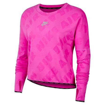 NIKE - AIR MIDLAYER CREW top - roze