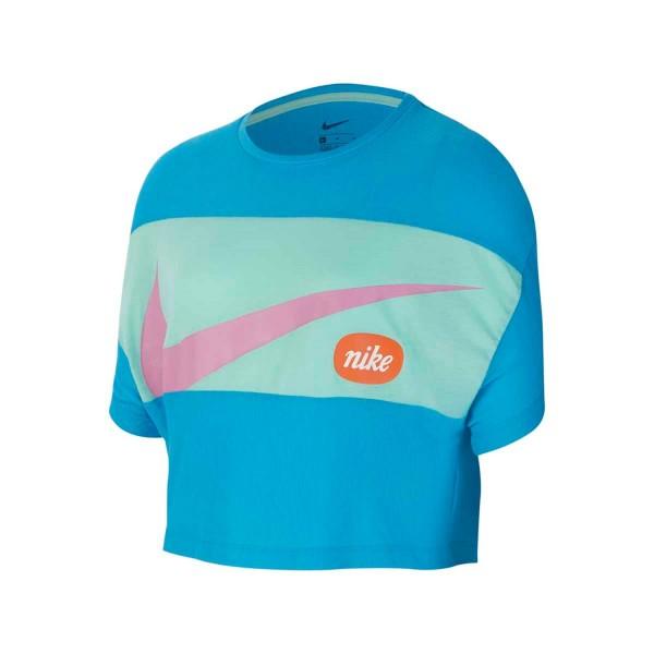 NIKE - Sleeve top girls - blauw