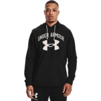 UNDER ARMOUR - RIVAL TERRY BIG LOGO hoodie men - zwart