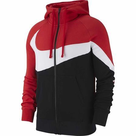 NIKE - FULL-ZIP HBR sweater - rood