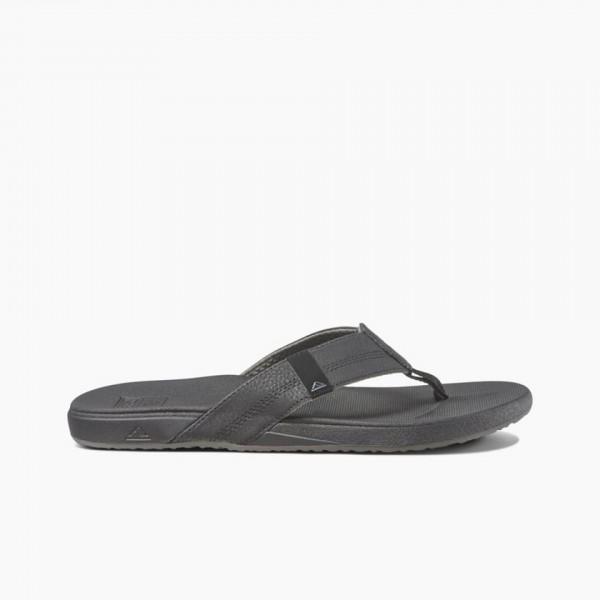 REEF - CUSHION PHANTOM slippers - zwart grijs
