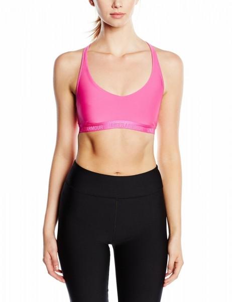 UNDER ARMOUR - LOW IMPACT sport-bh women - roze