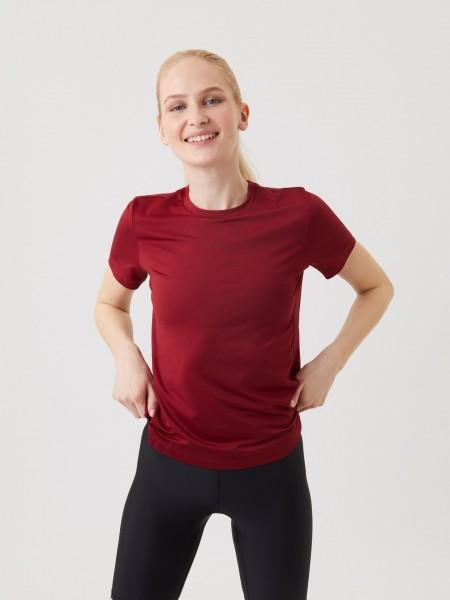 BJORN BORG - REGULAR trainingsshirt dames - rood